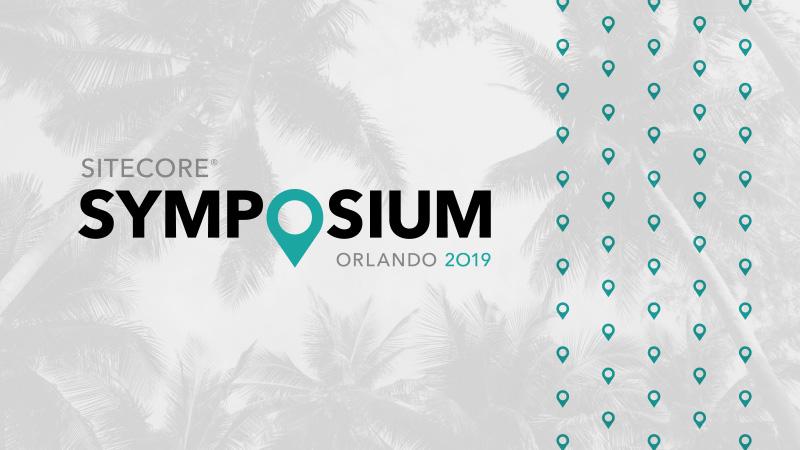 Sitecore Symposium 2019 | Nov 4-7, Orlando FL | Sitecore